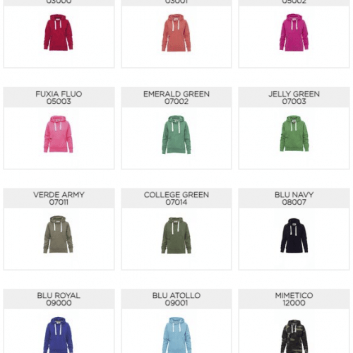 Colori ATLANTA+LADY - Payperwear