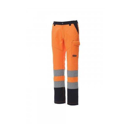 Pantalone charter lady arancio