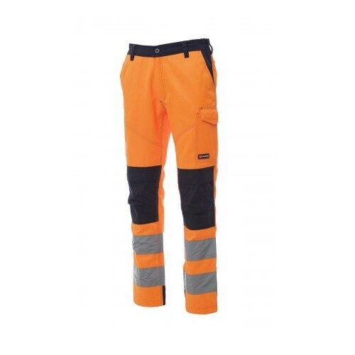 Pantalone charter tech arancio