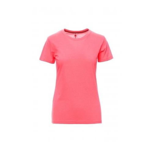 T-shirt sunset lady fluo